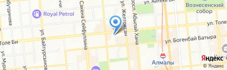 Sportland на карте Алматы