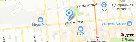 Nata Worldwide Travel на карте Алматы