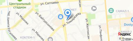 First на карте Алматы