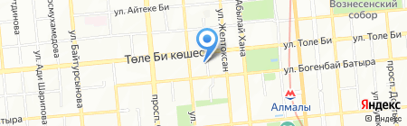 MH Industry на карте Алматы