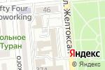 Схема проезда до компании Мила в Алматы