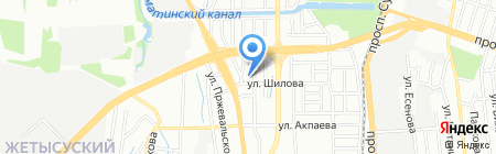 Ясли-сад №63 на карте Алматы