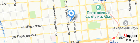 HSG Tours на карте Алматы