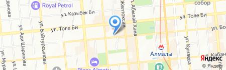 Студия нейл-арт Светланы Федоровой на карте Алматы