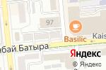 Схема проезда до компании Студия нейл-арт Светланы Федоровой в Алматы