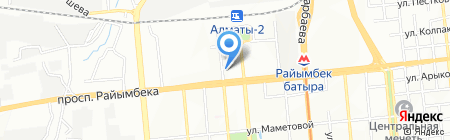 Мой Салон на карте Алматы
