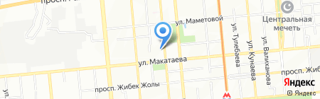 НУР Сервис на карте Алматы