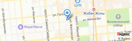 Ансар продуктовый магазин на карте Алматы