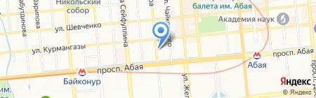 Svetofor.kz на карте Алматы