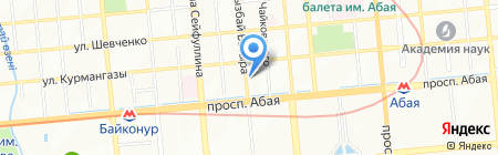 HTC-online.kz на карте Алматы