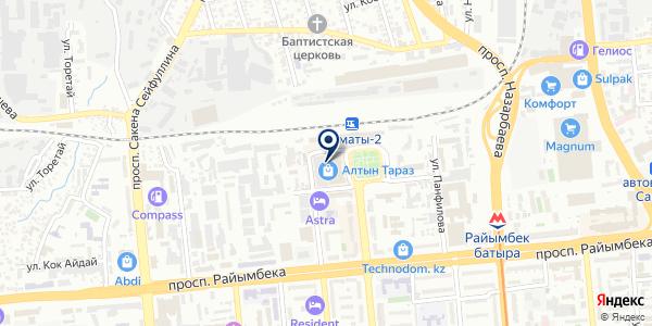 Fenix на карте Алматы