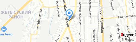 АЗ-БИРЛИК на карте Алматы