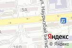 Схема проезда до компании Kronos Credit, ТОО в Алматы