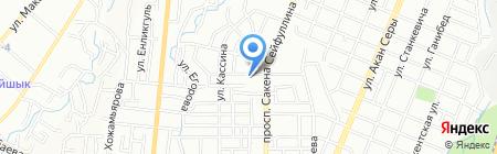Эдельвейс на карте Алматы