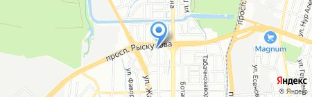 DYO на карте Алматы