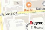 Схема проезда до компании InterStudent Company в Алматы