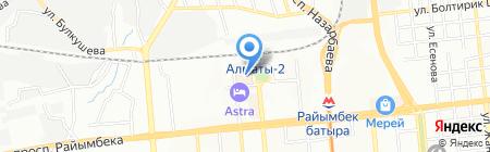 Super Action на карте Алматы