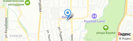 Ацхала ТОО на карте Алматы