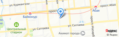 Эксплуатационный участок Бостандыкского района г. Алматы на карте Алматы