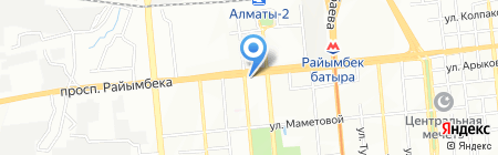 ForteBank на карте Алматы