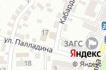 Схема проезда до компании Баня в Алматы