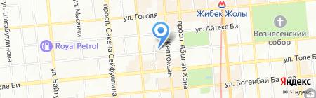 Salamander на карте Алматы