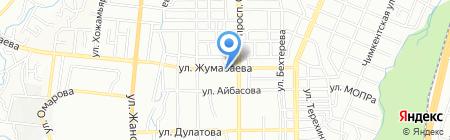 Бахус на карте Алматы
