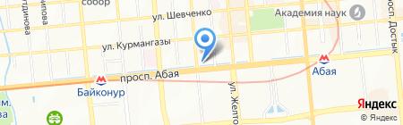Arnai Tours на карте Алматы