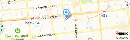 Aramex Kazakhstan на карте Алматы