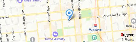 Вестник Союза франчайзинга на карте Алматы