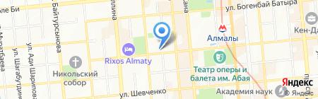 Отдел дорожной полиции УДП Медеуского района г. Алматы на карте Алматы