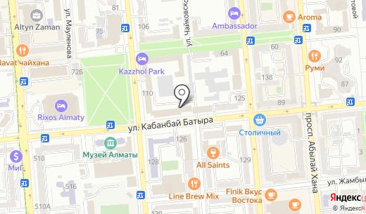 УВД Медеуского района г. Алматы. Схема проезда в Алматы