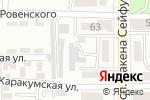 Схема проезда до компании Усипова З. в Алматы