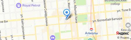 VOGUE Escort на карте Алматы