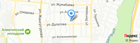 Центр санитарно-эпидемиологической экспертизы Турксибского района на карте Алматы
