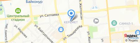 Divanidea на карте Алматы