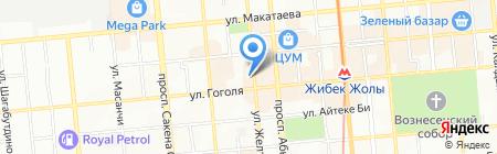 Frank Lyman на карте Алматы