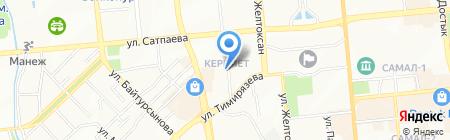 GoodVel на карте Алматы
