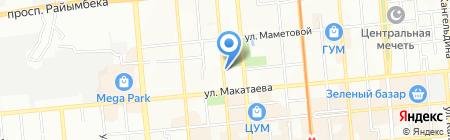 Чемпион на карте Алматы