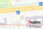 Схема проезда до компании Fабрика в Алматы