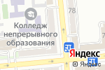 Схема проезда до компании Всё для праздника в Алматы