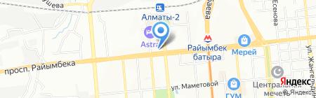 Service V & K на карте Алматы