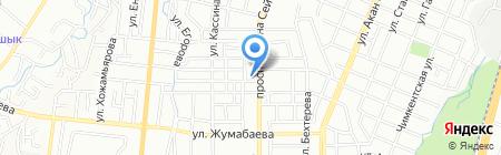 Mercury-ТЦ на карте Алматы