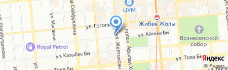 Инспекция финансового контроля по г. Алматы на карте Алматы