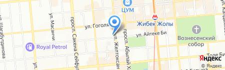Eurodent на карте Алматы