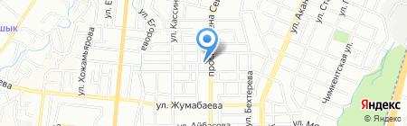Детская городская поликлиника №4 на карте Алматы