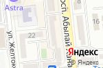 Схема проезда до компании Ginger Sushi в Алматы