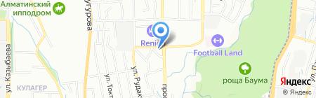 Жылдам Акша на карте Алматы