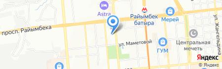 Ма-Тур Казахстан на карте Алматы