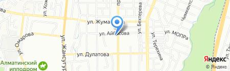 Почтовое отделение связи №37 на карте Алматы